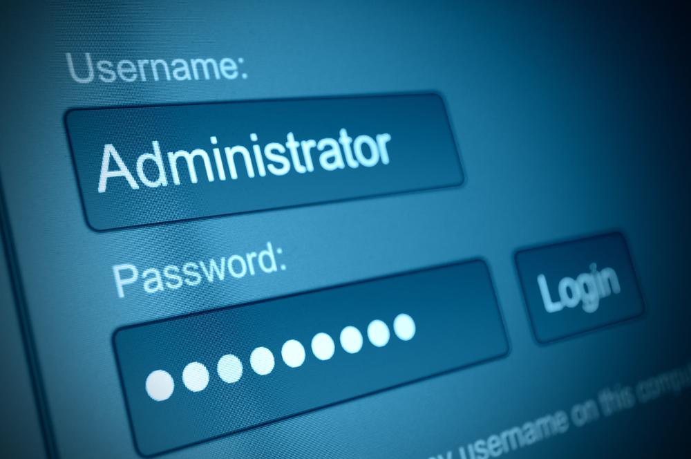 стандартный пароль от роутера