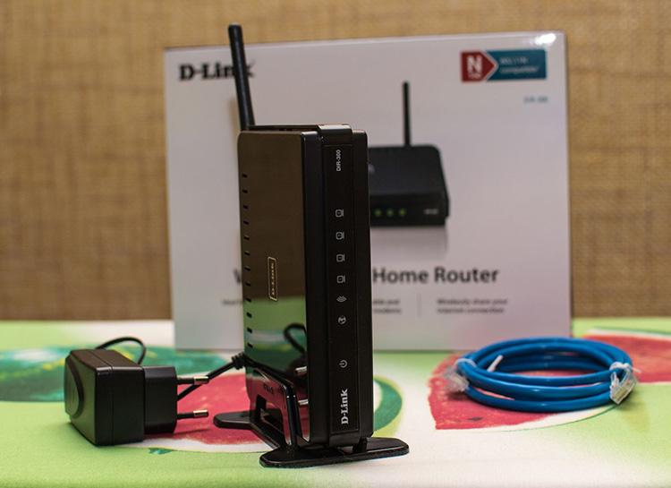Сброс настроек роутера D-Link Dir 300 возможен двумя способами