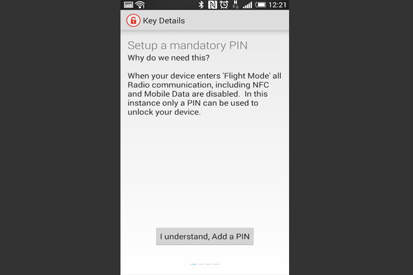 Чтобы активировать NFC кольцо, потребуется официальное приложение NFC Ring Control