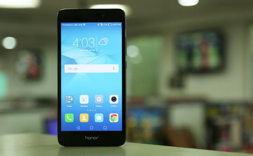 Функциональный смартфон с нфс Huawei Honor 5C