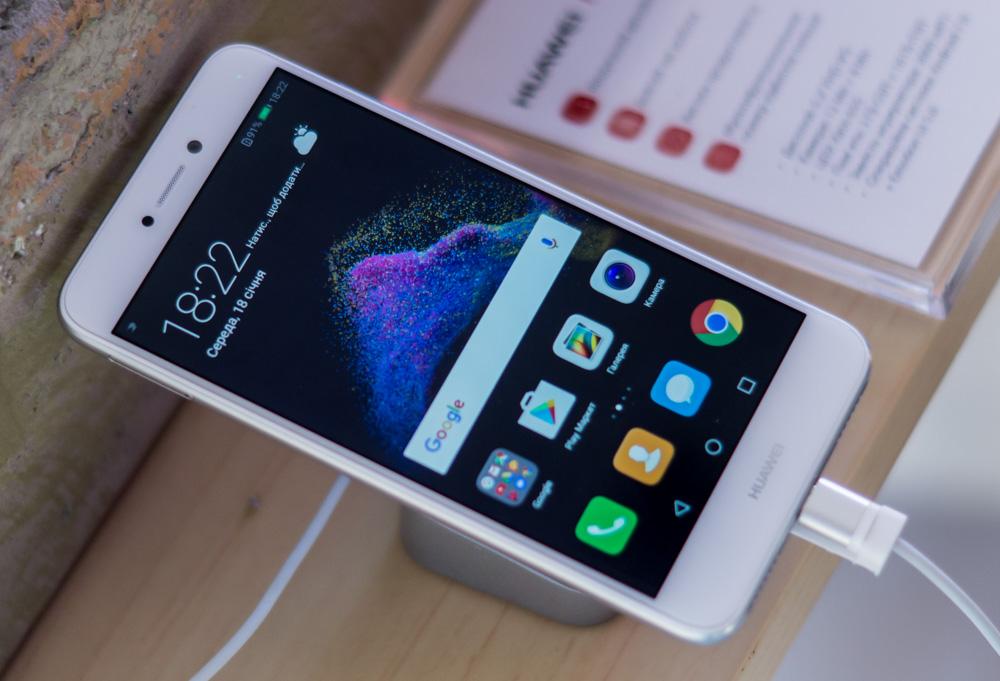 Стильный и бюджетный смартфон с nfc Huawei P8 Lite