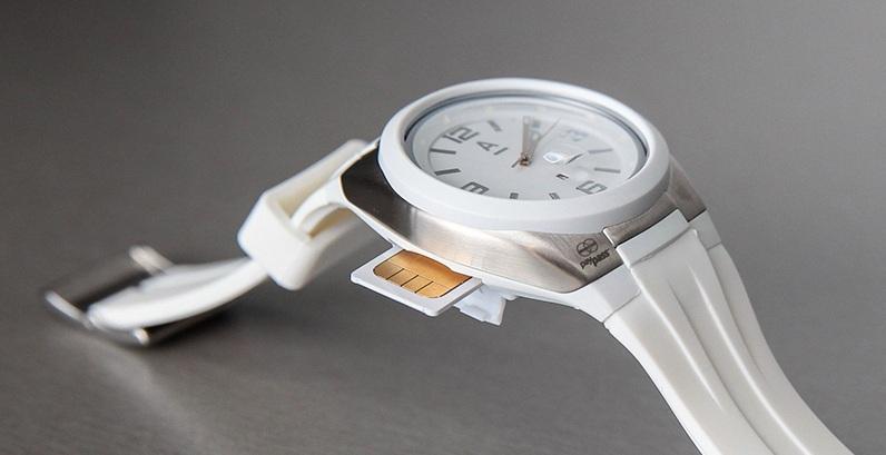 Watch2pay - первые смарт-часы с поддержкой NFC