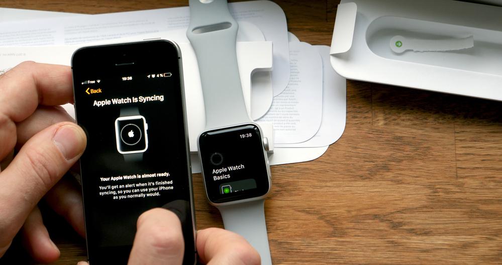 В Apple Watch встроен датчик NFC