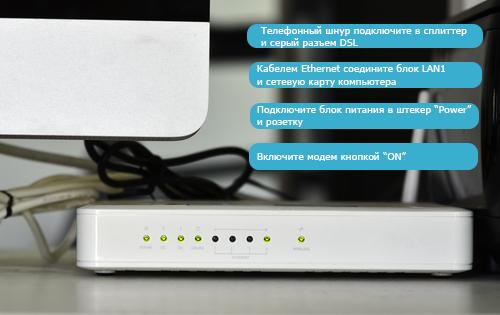 Как настроить D-Link DSL 2540U