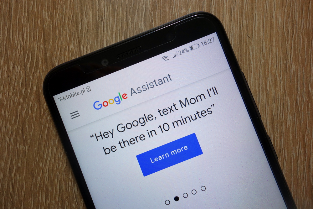 как настроить окей гугл на андроид